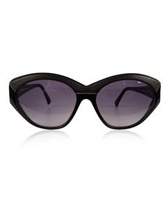 Yves Saint Laurent Vintage Black Sunglasses 8916 P367 With Leather