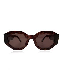 Gianni Versace Vintage Brown Medusa Mint Sunglasses Mod. S13 Col 740