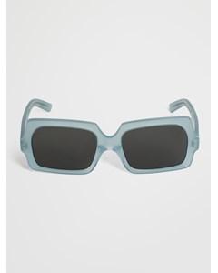 George Large Sunglasses In Light Blue Acetate Light Blue