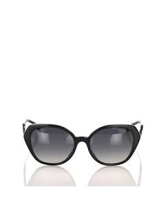 Chanel Cat Eye Tinted Sunglasses Black