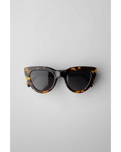Wander Cat Eye Sunglasses Beige