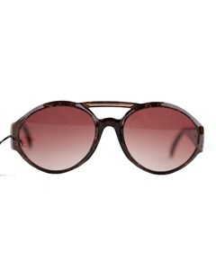 Vintage Brown Oversized Sunglasses Mod. 8935-o