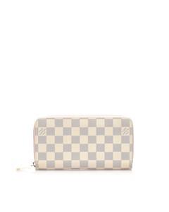 Louis Vuitton Damier Azur Zippy Wallet White