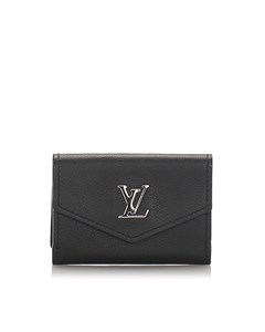 Louis Vuitton Lockmini Wallet Black