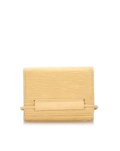 Louis Vuitton Epi Elastic Card Holder Yellow