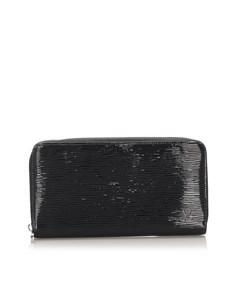 Louis Vuitton Electric Epi Zippy Black