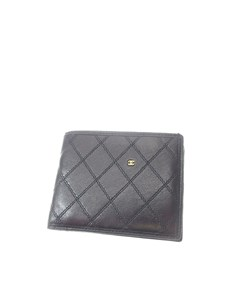 Chanel Matelasse Leather Small Wallet Black