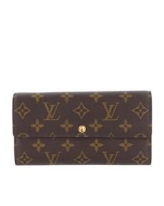 Louis Vuitton Monogram Sarah Wallet Brown