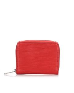 Louis Vuitton Epi Zippy Coin Purse Red