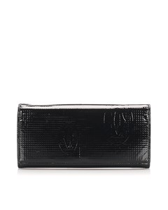 Cartier Happy Birthday Leather Wallet Black