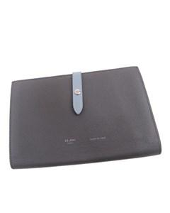Celine Small Multifunction Strap Wallet Gray
