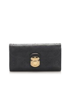 Louis Vuitton Mahina Amelia Wallet Black