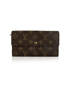 Louis Vuitton Monogram Long Sarah Clutch Continental Wallet
