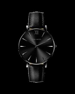 Black/black Leather Berkeley 38