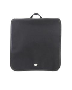 Burberry Plaid Canvas Backpack Black