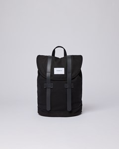 Stig Small With Black Leather, Black