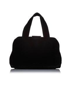 Prada Wool Handbag Black