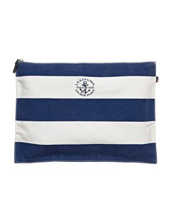 Two Mile Bag-blue-white Stripe