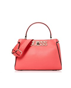 Guess Uptown Chic Satchel Corla Rosa