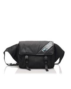 Prada Tessuto Belt Bag Black
