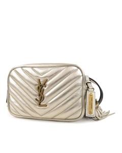 Ysl Lou Belt Bag Gold