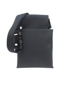 Bottega Veneta Coated Canvas Belt Bag Black