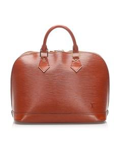 Louis Vuitton Epi Alma Pm Brown