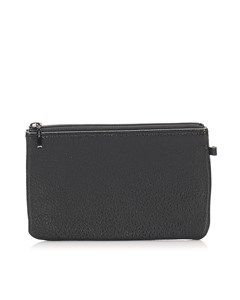 Burberry Leather Pouch Black