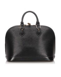 Louis Vuitton Epi Alma Pm Black