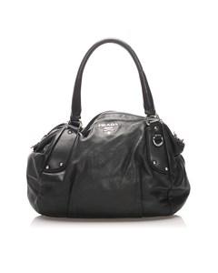 Prada Leather Handbag Black