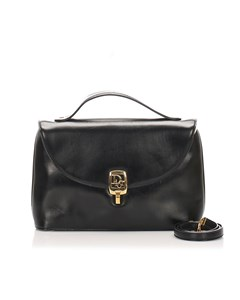 Dior Leather Handbag Black