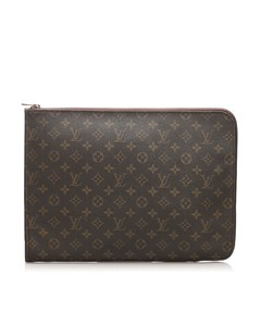 Louis Vuitton Monogram Poche Documents Portfolio Brown