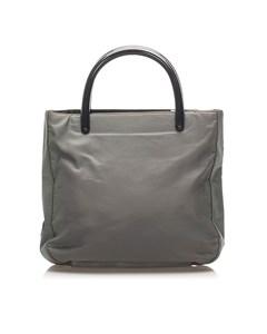 Prada Tessuto Handbag Gray