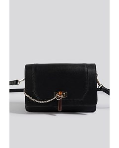 Triangle Loop Crossbody Black