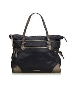 Burberry Nylon Shoulder Bag Black