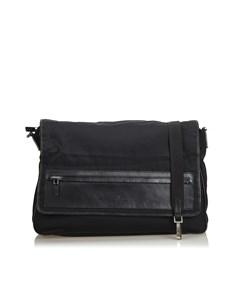 Gucci Canvas Messenger Bag Black