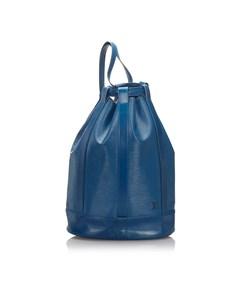 Louis Vuitton Epi Randonnee Gm Blue