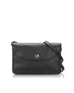 Dior Leather Crossbody Bag Black