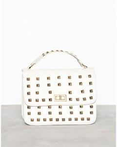 Golden Boss Girl Bag White