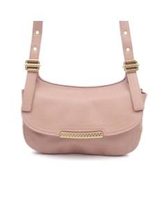Bottega Veneta Leather Crossbody Bag Pink