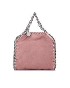 Stella Mccartney Tiny Falabella Shaggy Deer Shoulder Bag Pink