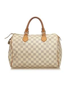 Louis Vuitton Damier Azur Speedy 30 White