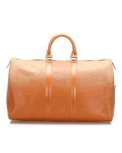 Louis Vuitton Epi Keepall 45 Brown