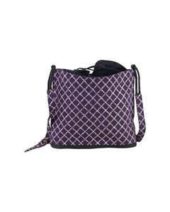 Bruno Magli Vintage Drawstring Bucket Bag