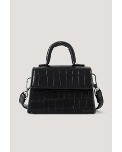 Micro Top Handle Bag Black