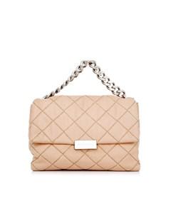 Stella Mccartney Medium Quilted Becks Shoulder Bag Pink