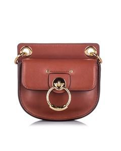 Chloe Mini Tess Crossbody Bag Brown