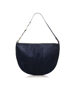 Gucci Horsebit Pony Hair Hobo Bag Blue