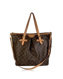 Louis Vuitton Monogram Canvas Palermo Gm Tote Bag With Strap