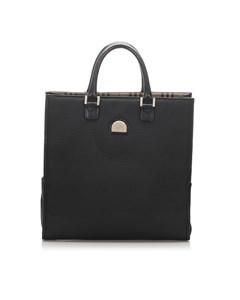 Burberry Canvas Tote Bag Black